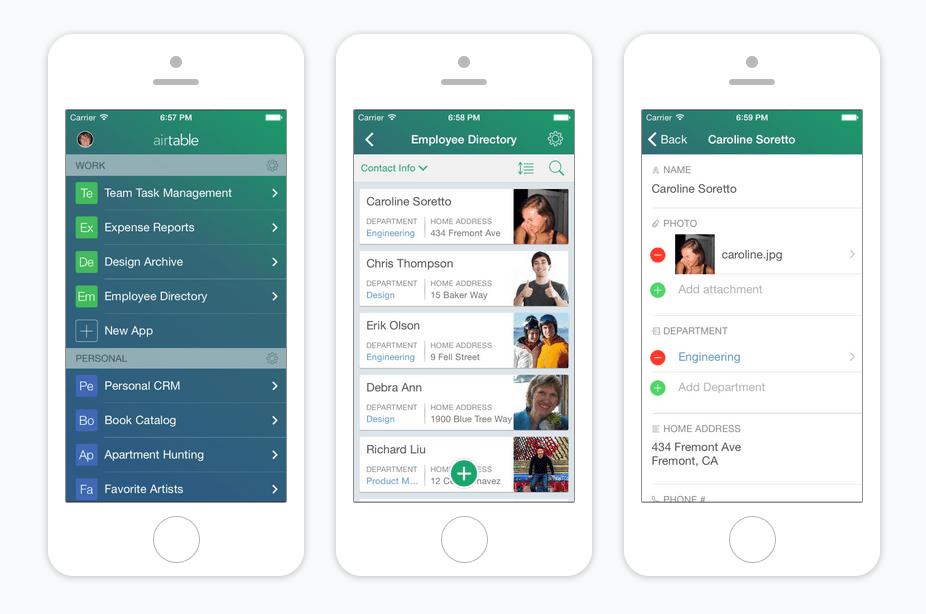 airtable ios app