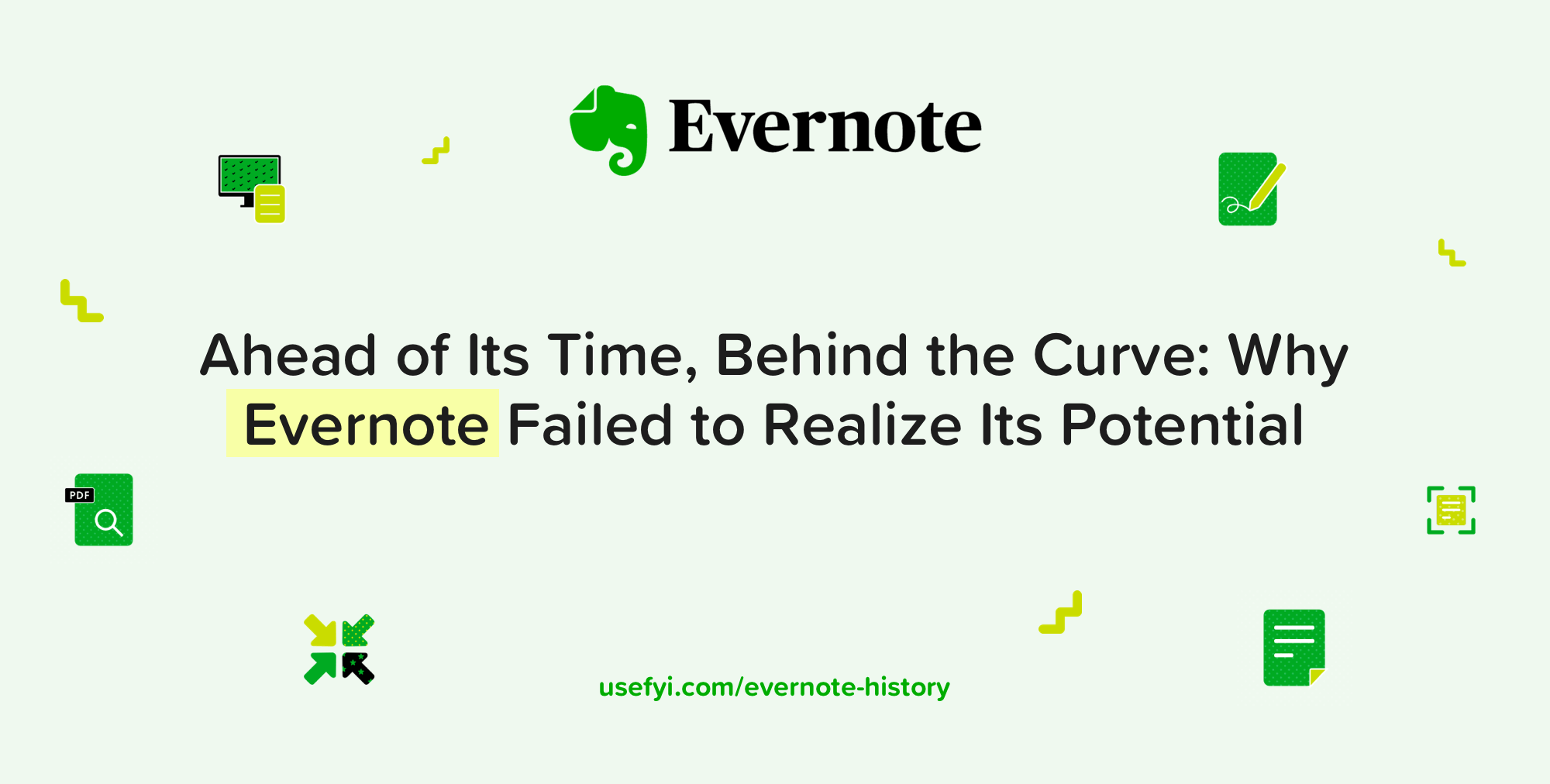 Evernote History