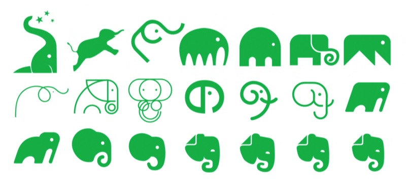 Evernote brand icons