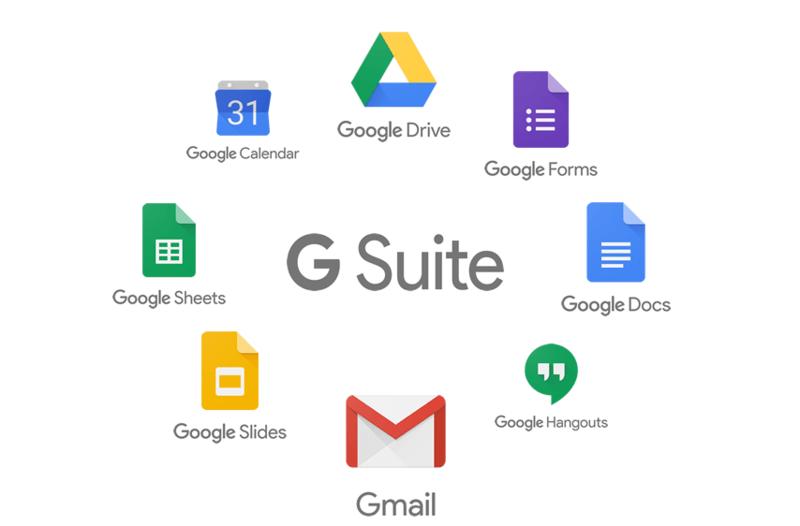 G Suite logo concept