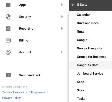 G Suite App Permissions
