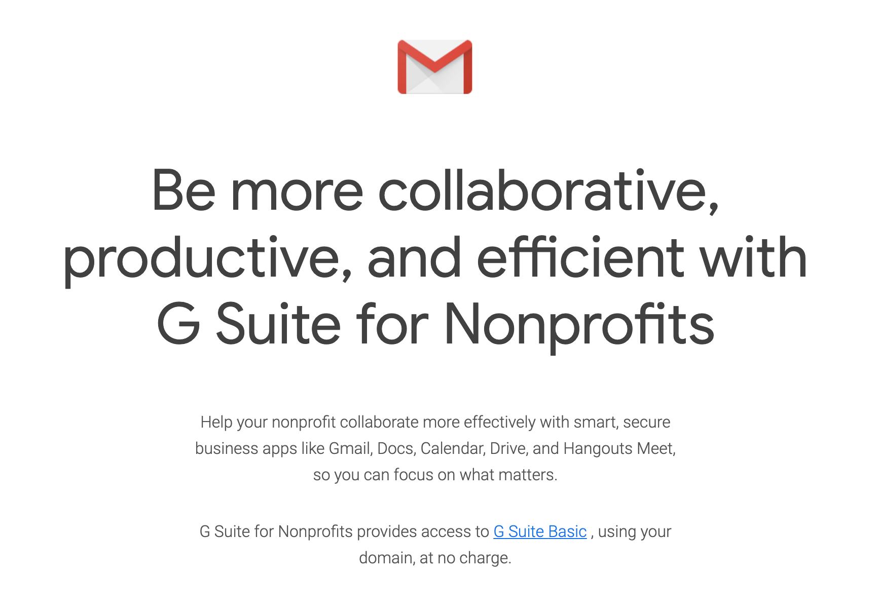 How to Get G Suite for Free As a Nonprofit