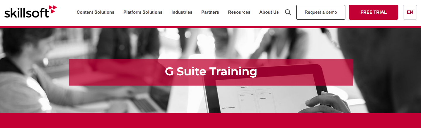 Skillsoft G Suite Training