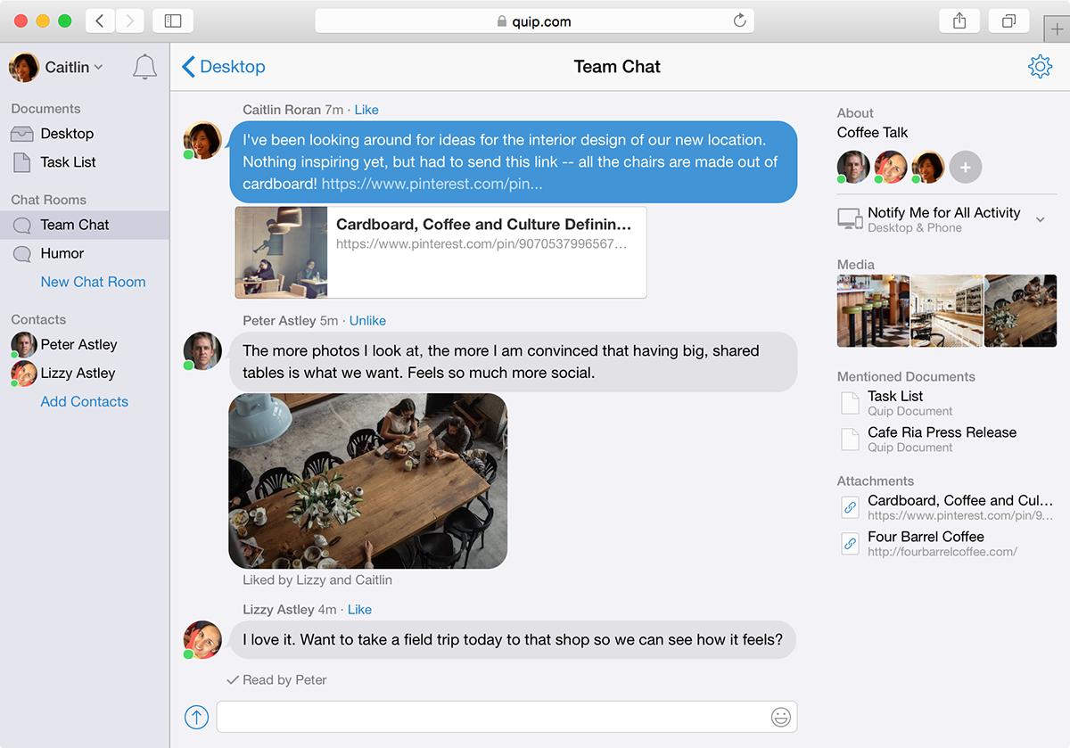 Quip Chatroom