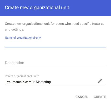 Sub-organization unite
