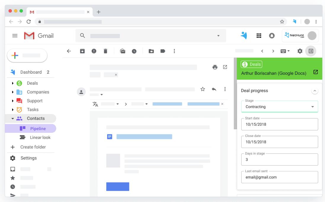 NetHunt Gmail
