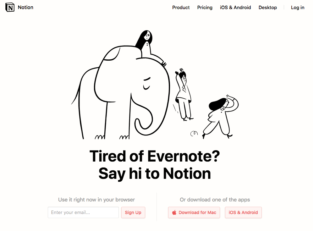 Notion Evernote importer