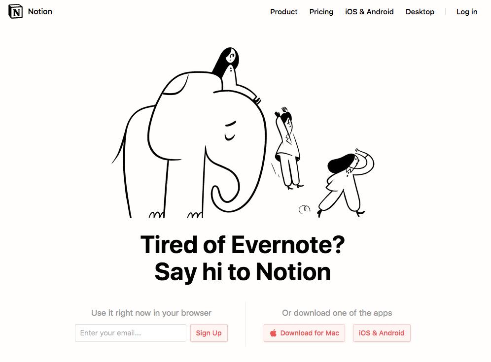 Notion Evernote importer