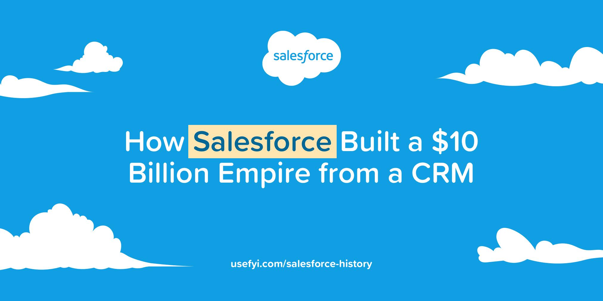 Salesforce History