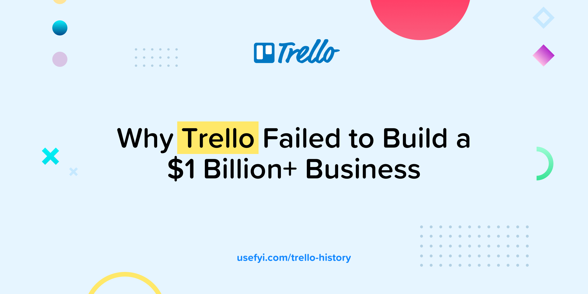 Why Trello Failed to Build a $1 Billion+ Business [The Full