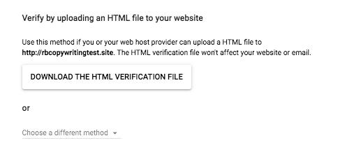 Download HTML file