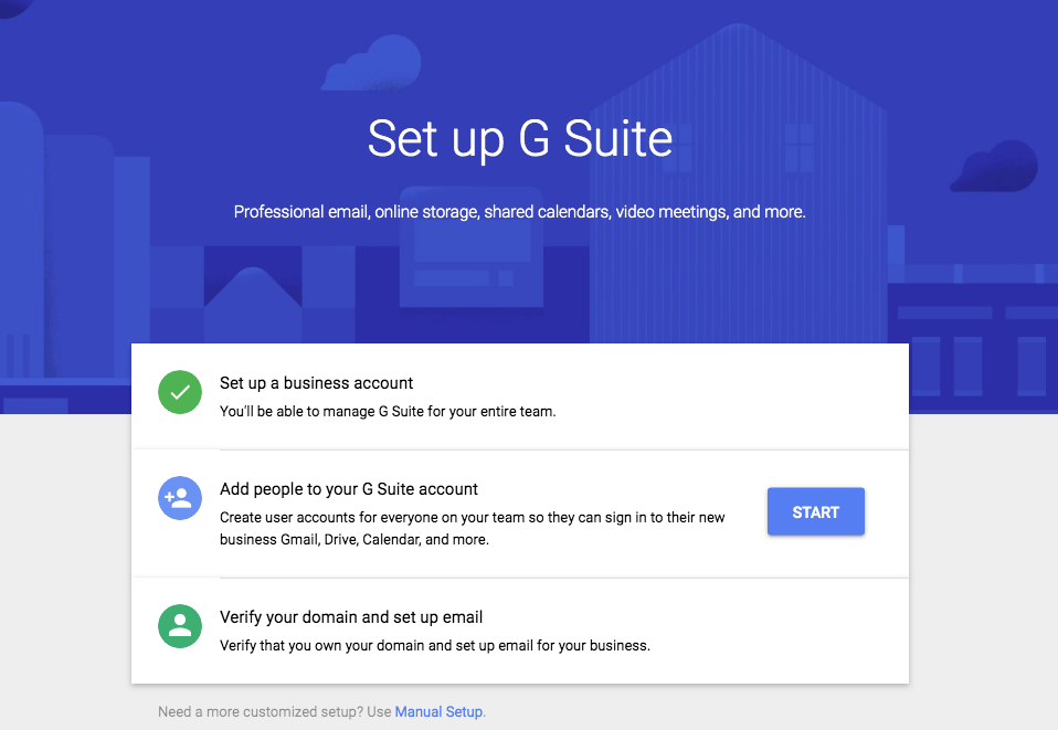 The Beginner's Guide to the G Suite Setup Wizard | FYI