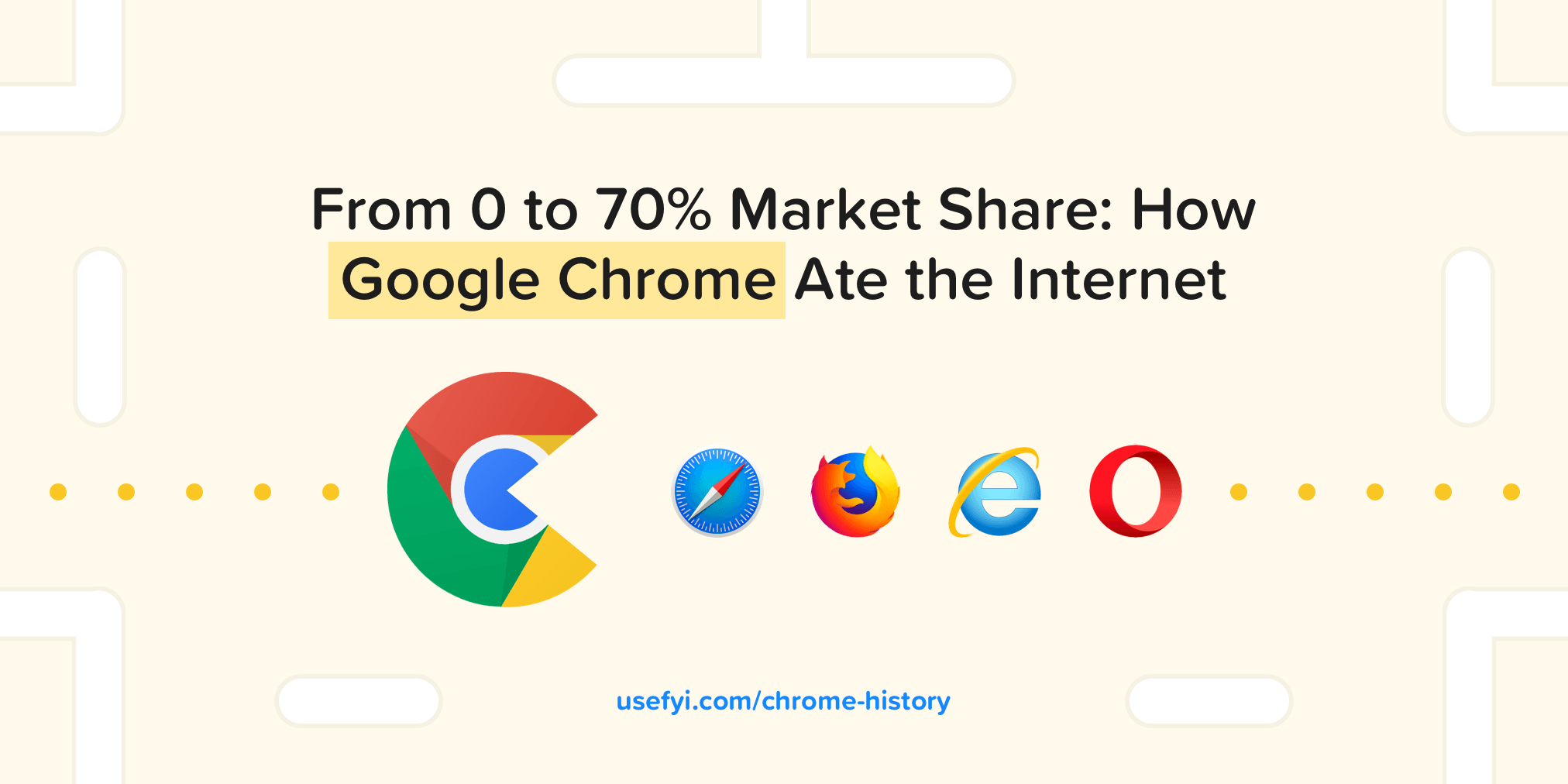 Chrome Ate the Internet