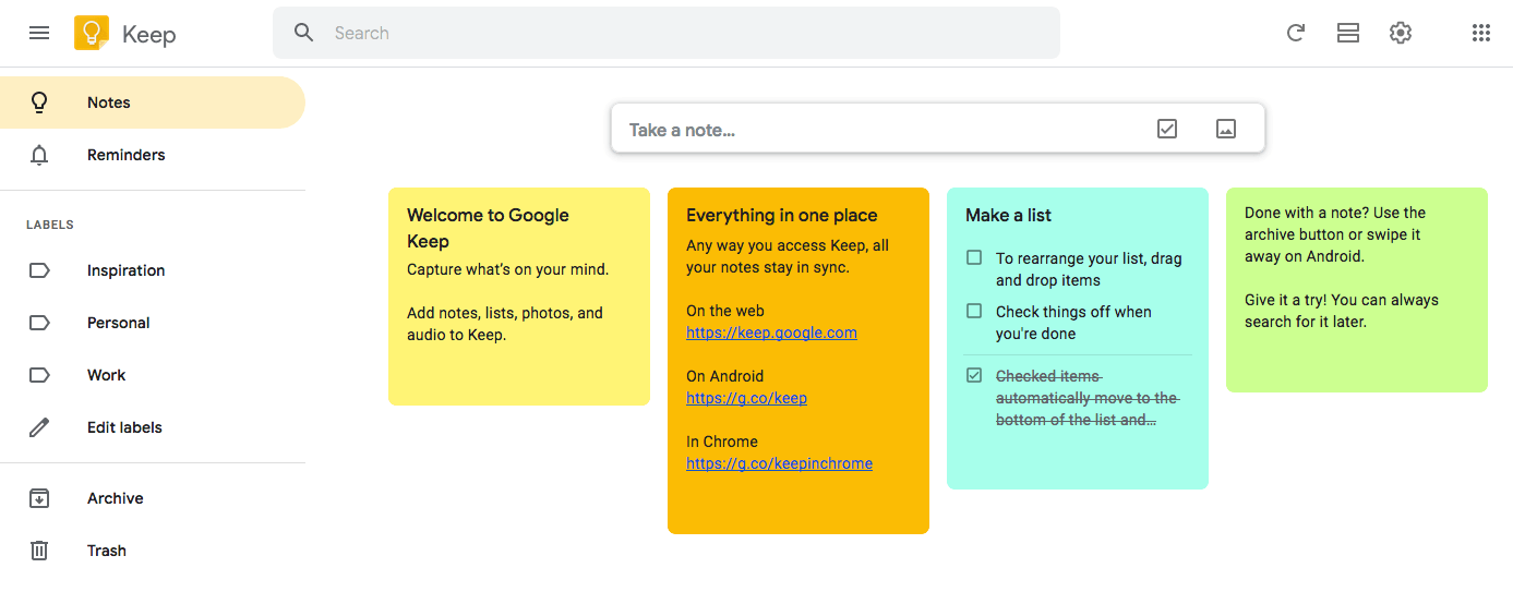 Google Keep vs  Evernote: Who's the Note-Taking Champion? | FYI