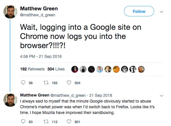 Matthew Green twitter