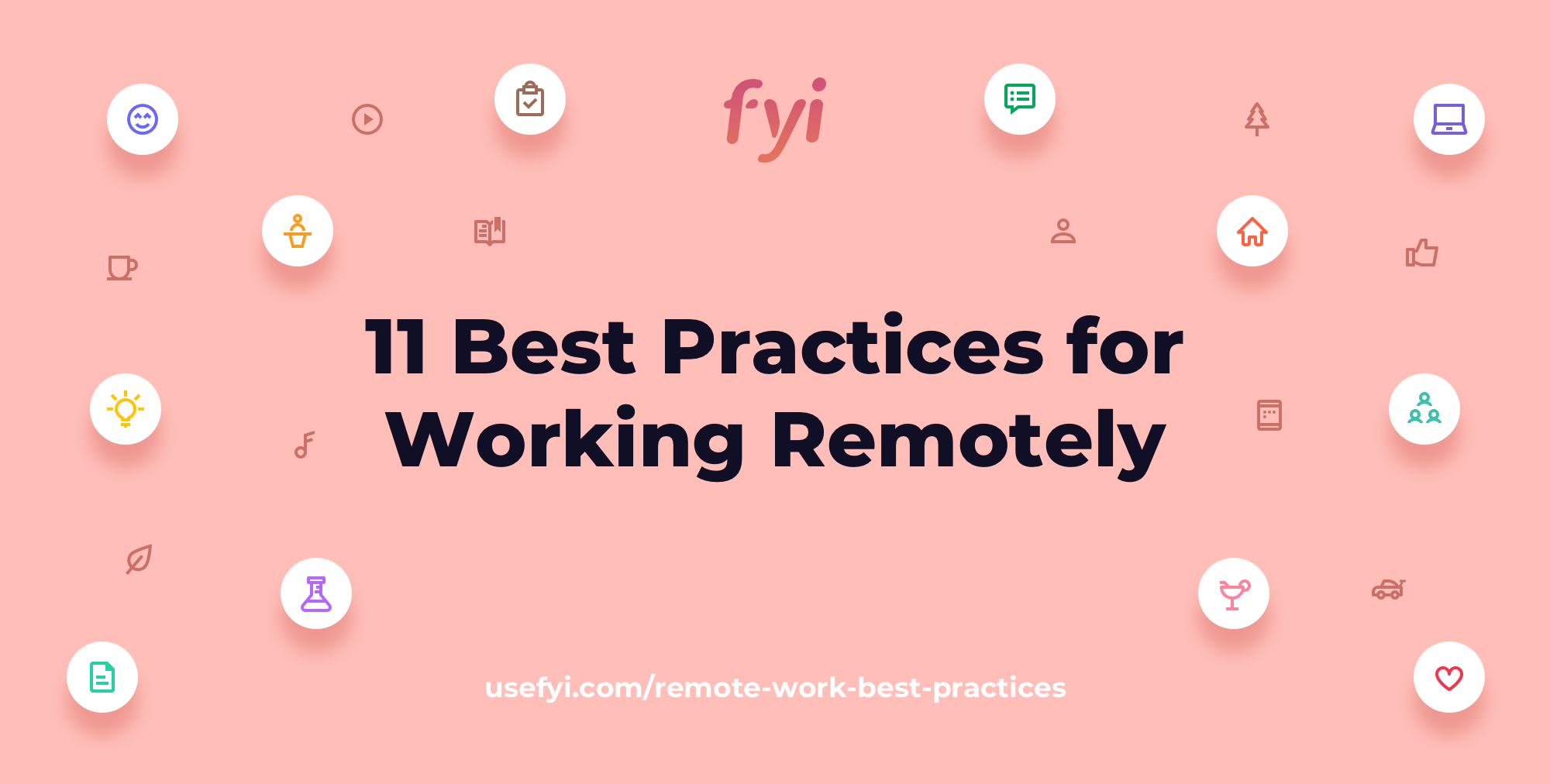 remote work best practices title