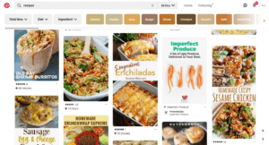 Pinterest Recipe Search Results