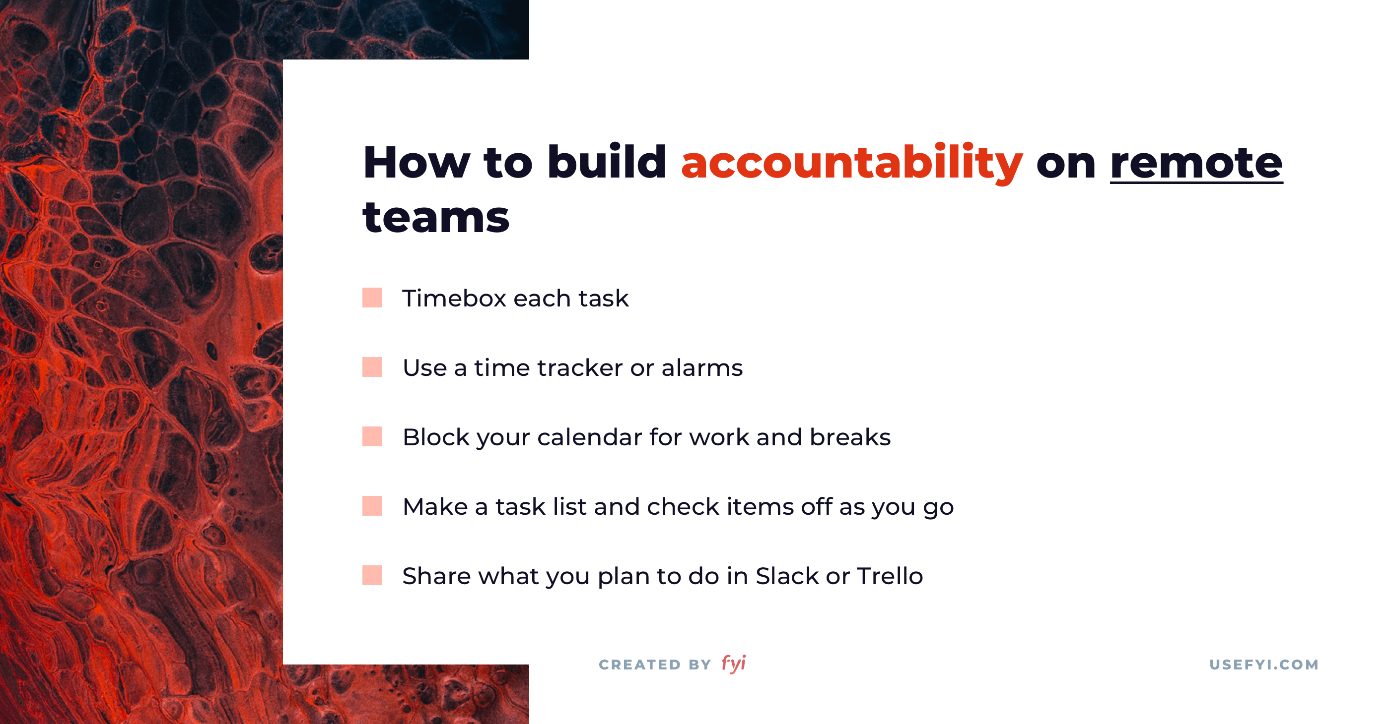 remote work accountability