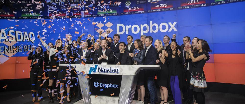 Dropbox Nasdaq IPO