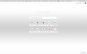 chrome minimal theme screenshot