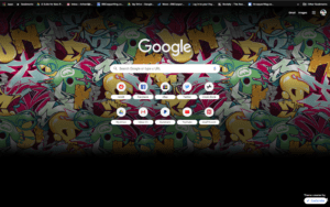 chrome marc ecko theme screenshot