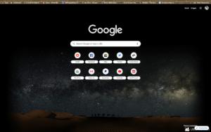 chrome sahara theme screenshot