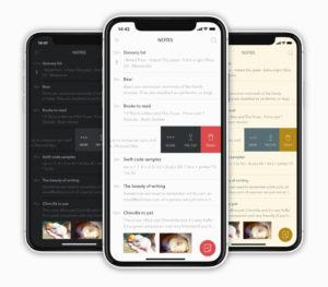 bear app mobile ui screenshots