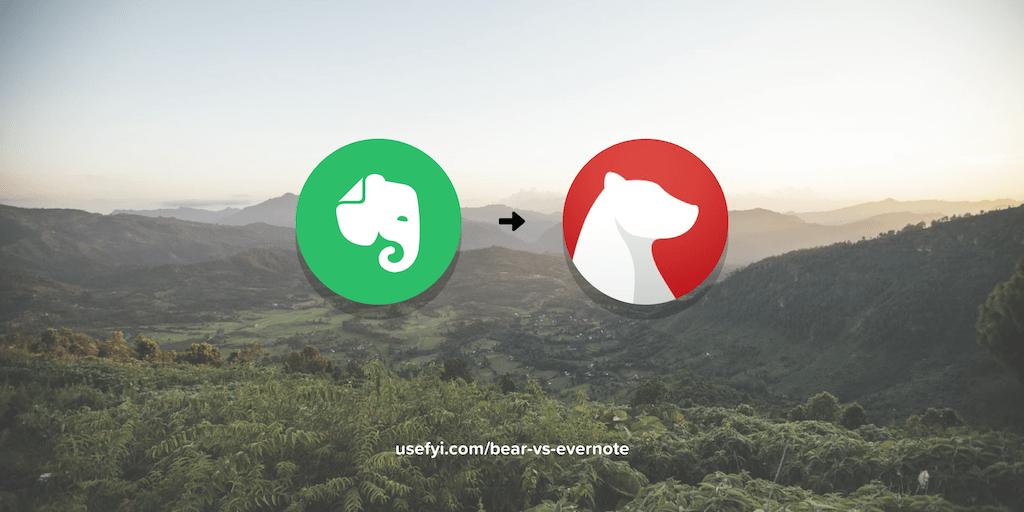 Bear vs. Evernote