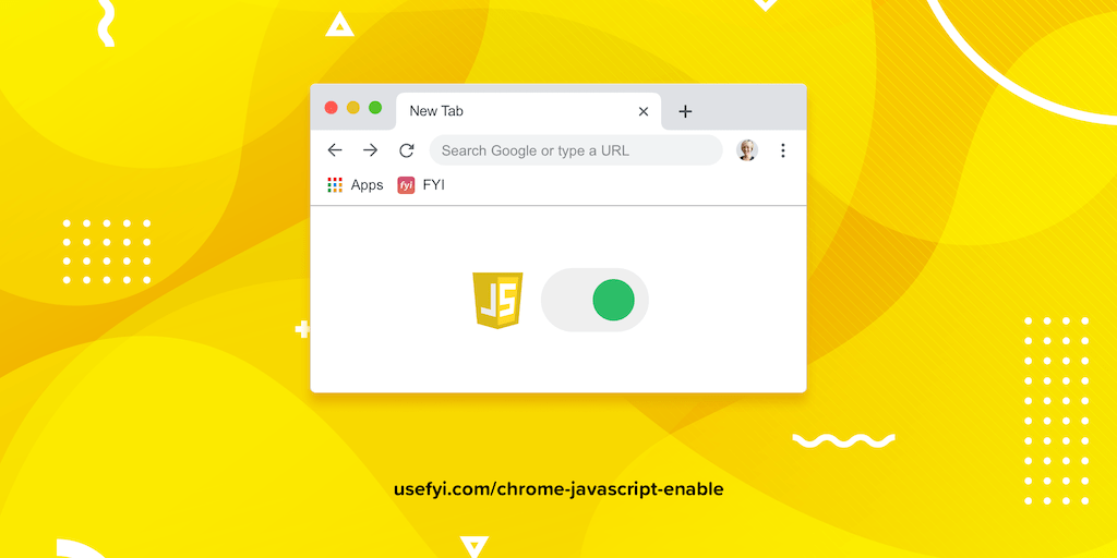 Enable javascript in Chrome