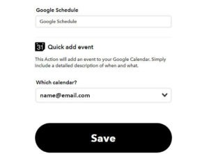 evernote events reminder settings