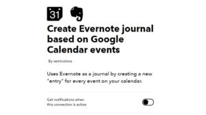 evernote journal screenshot