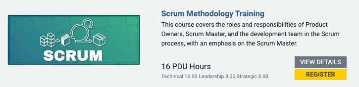 scrum training course screenshot