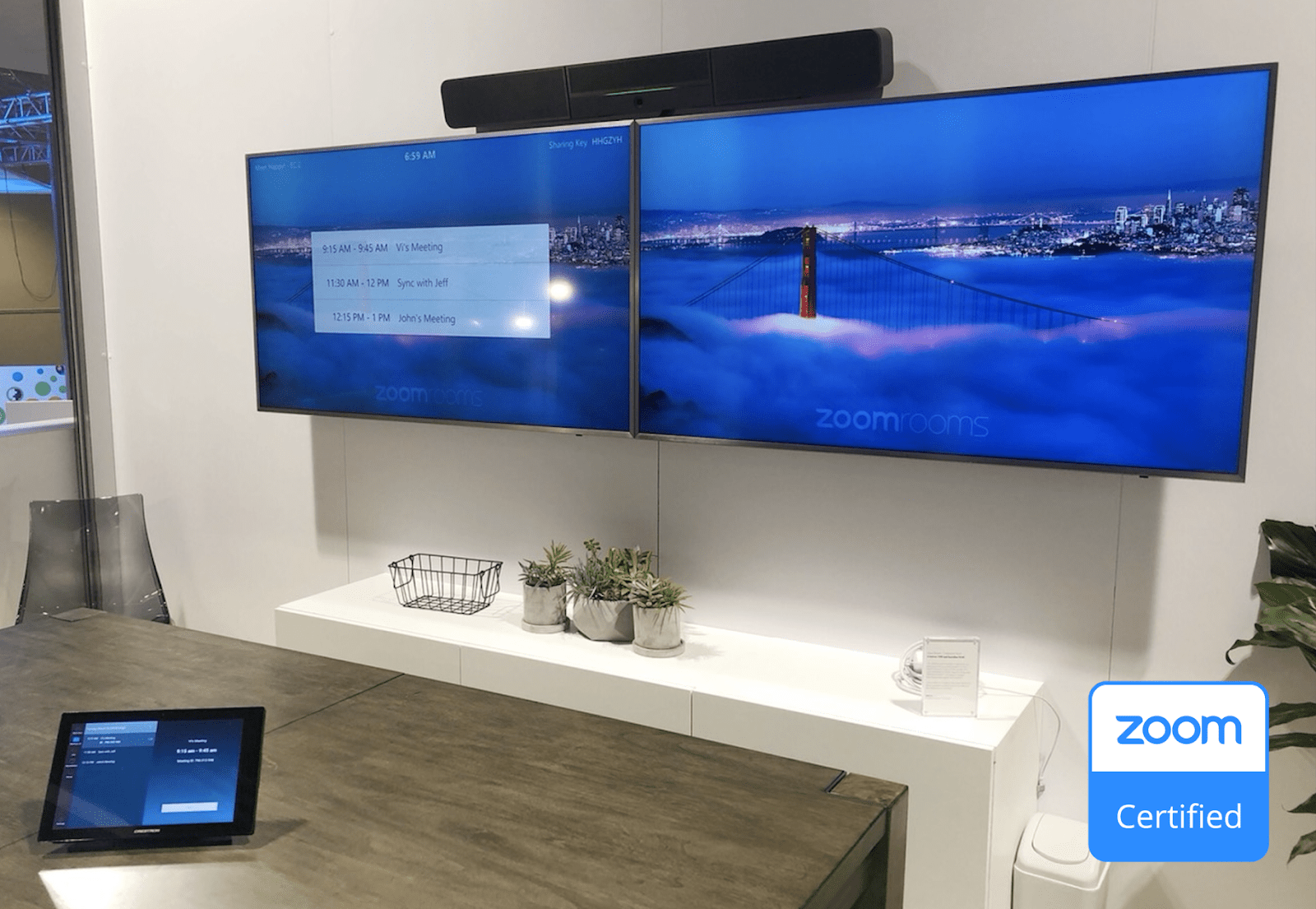 Logitech's Room Solutions for Zoom Rooms