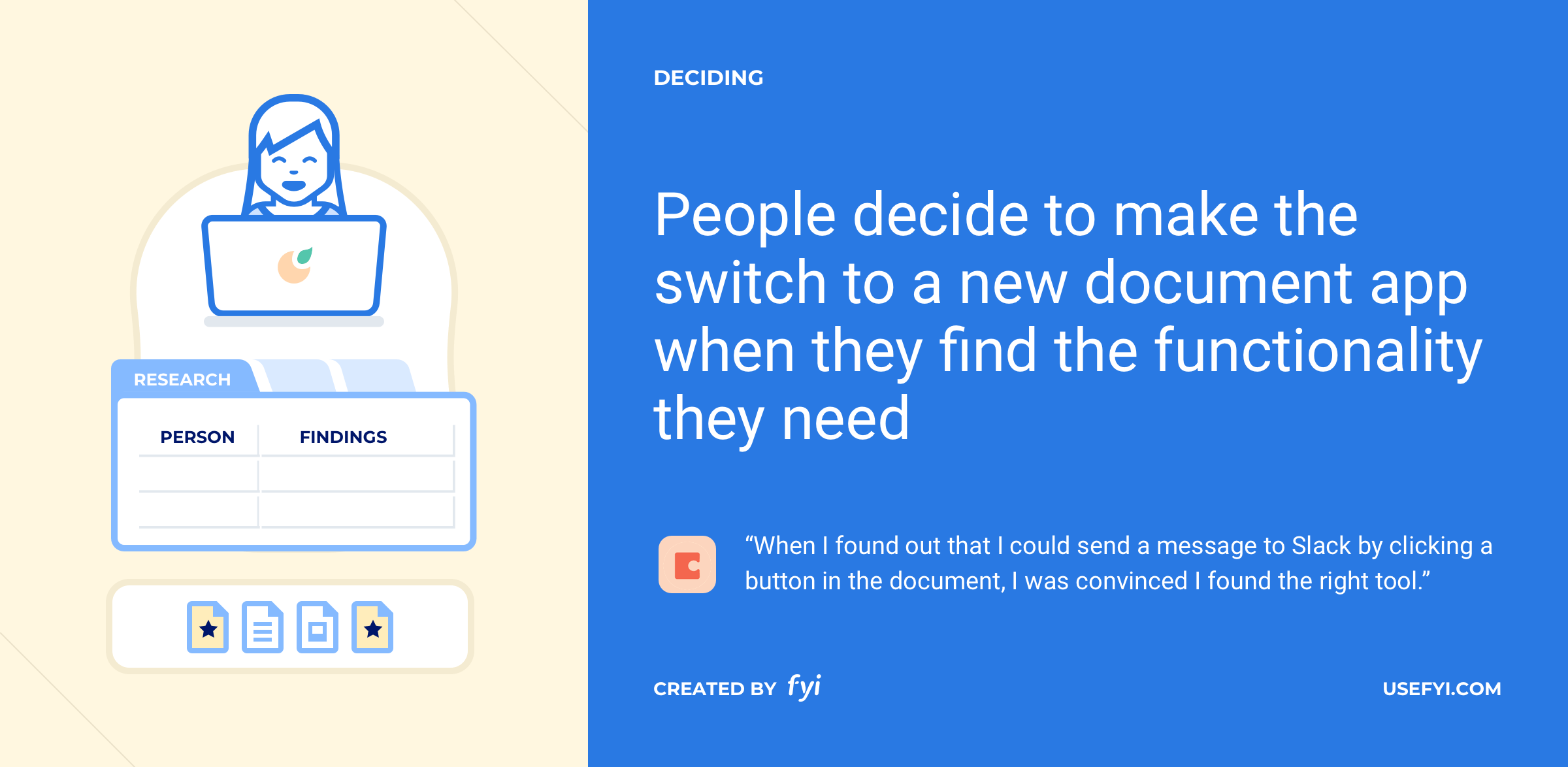 choosing document apps