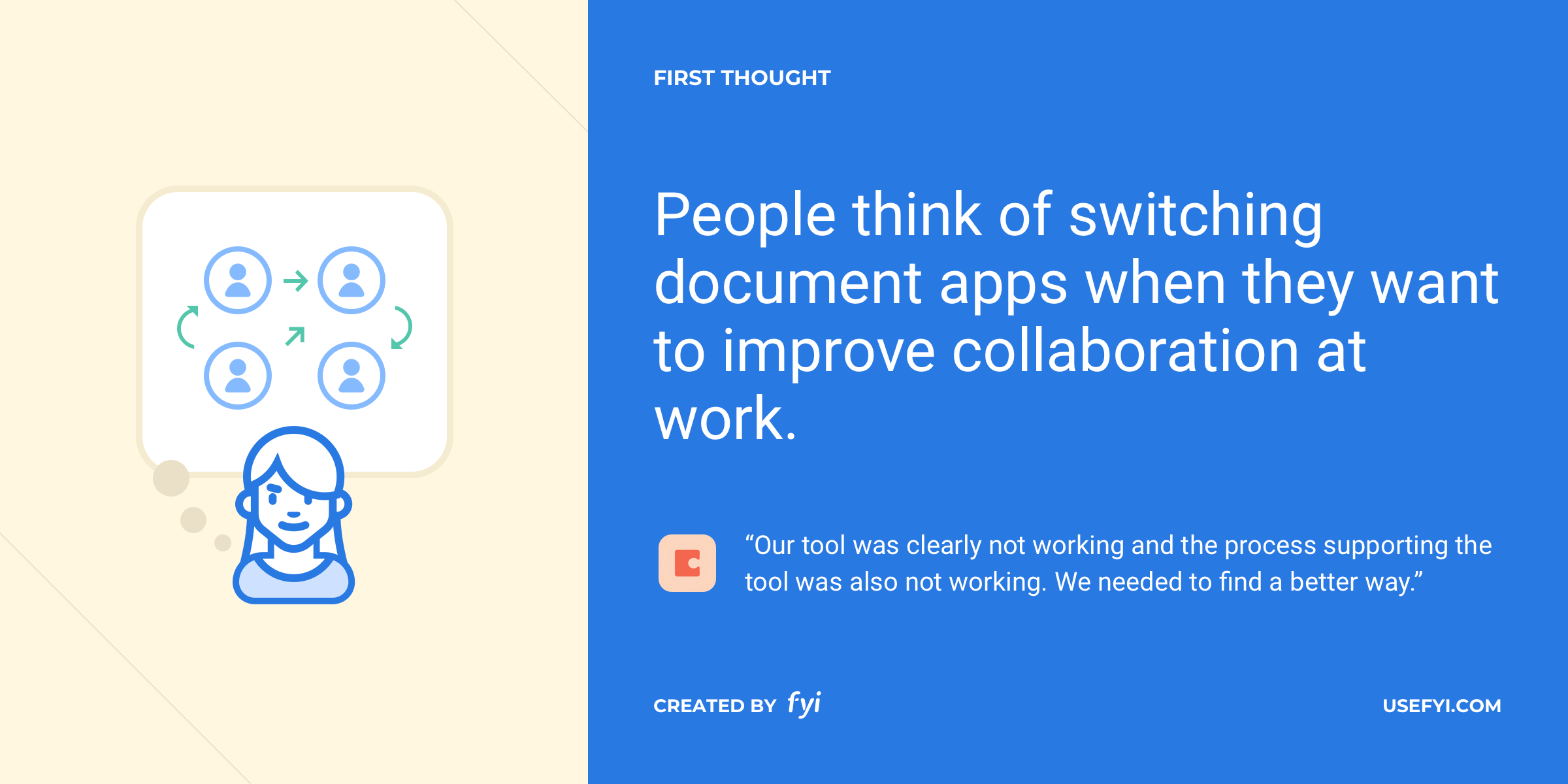 first thought document collaboration coda