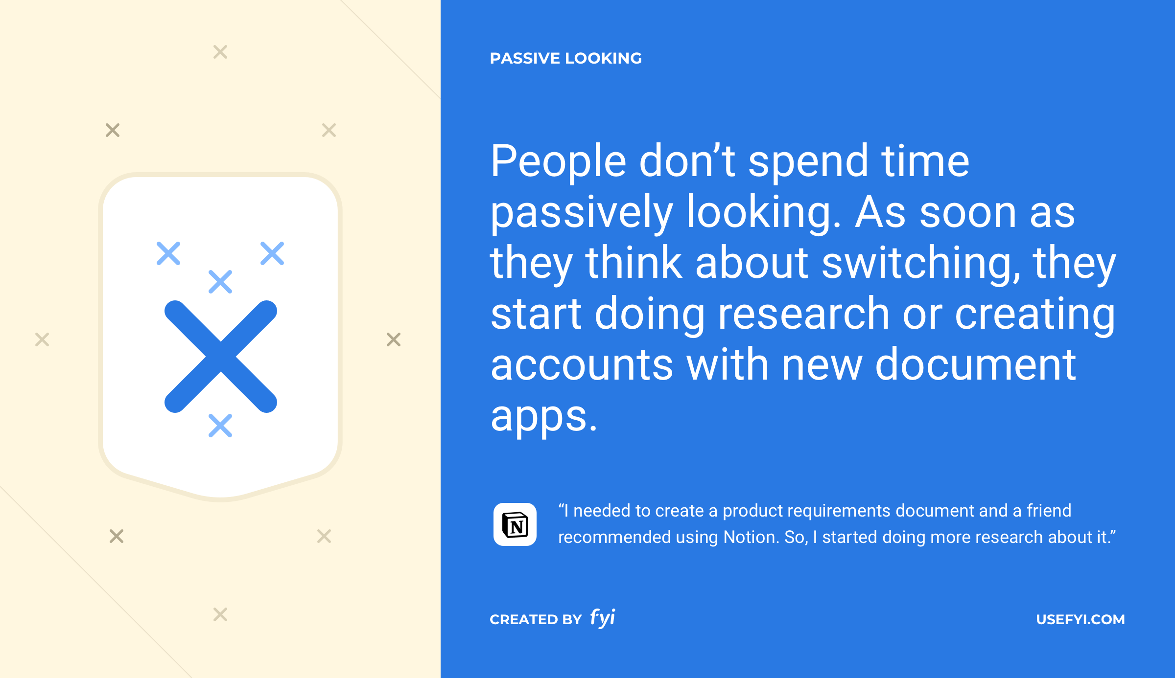 passive looking document apps