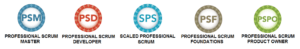 scrum training courses psf