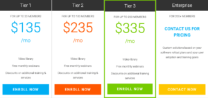 knowledge wave office 365 training pricing