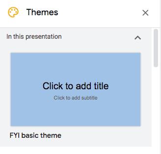 custom theme screenshot