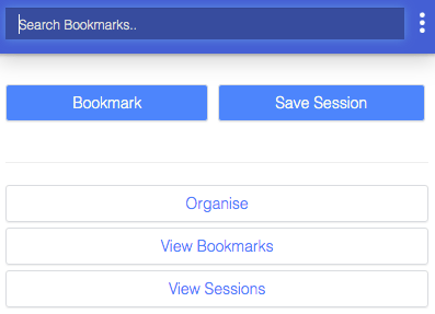 chrome bookmark manager extension