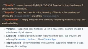 evernote markdown screenshot
