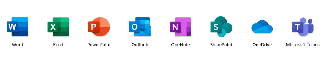 apps included with Office 365 E3