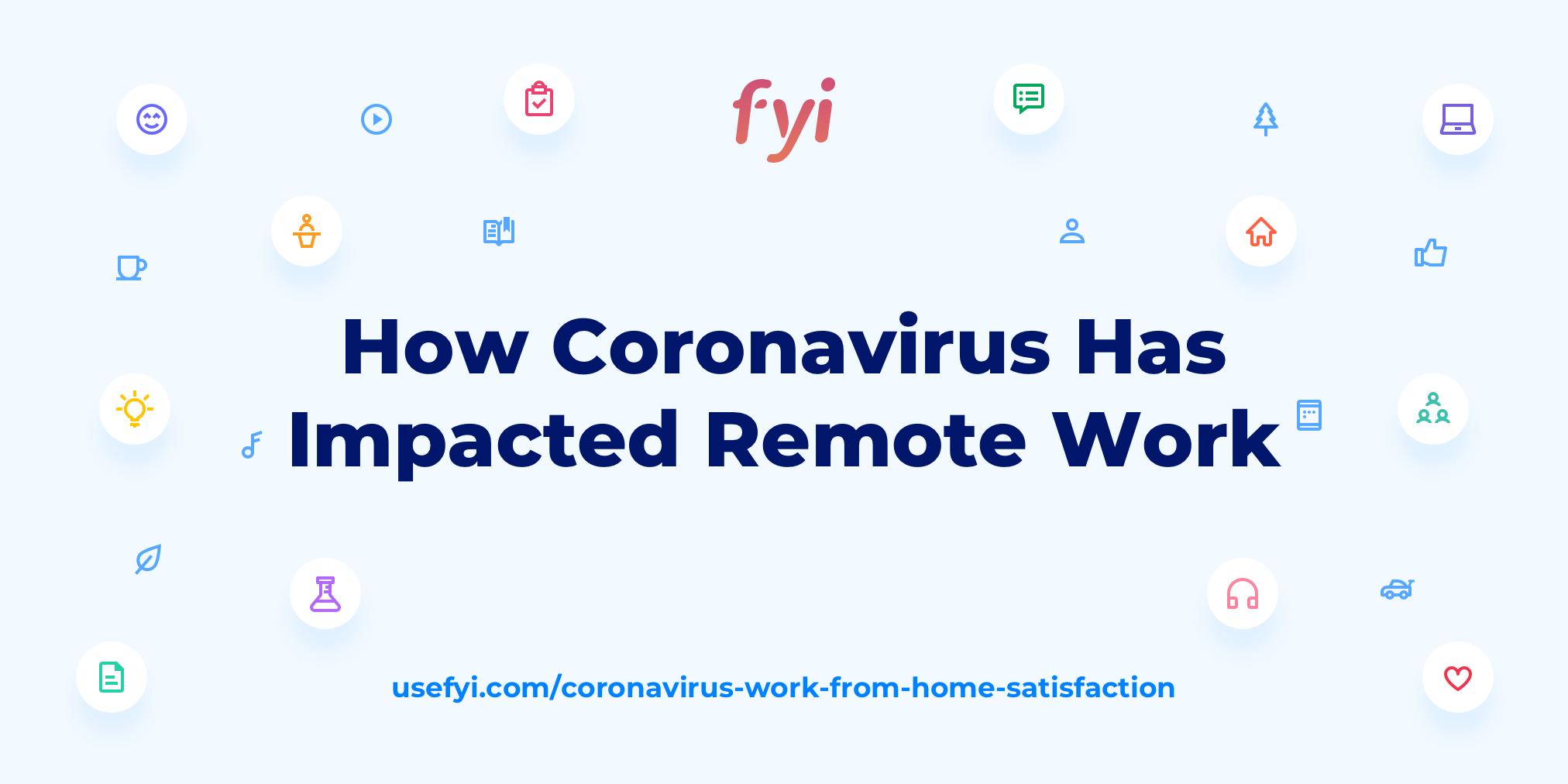 Coronavirus remote work sat cover