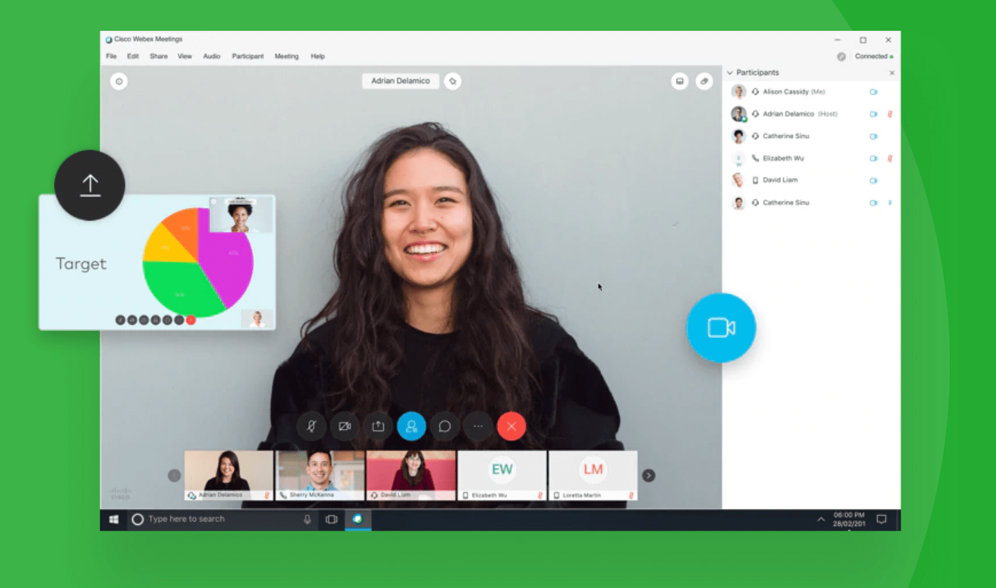 Cisco Webex UI