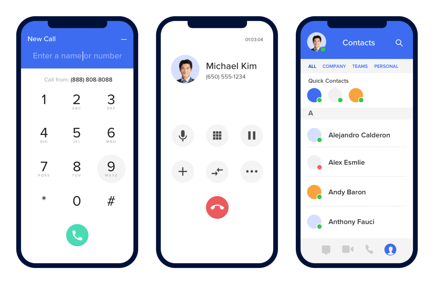 Ring Central UI