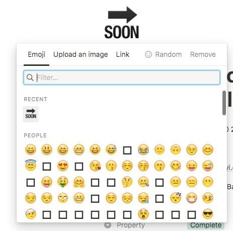 notion emojis