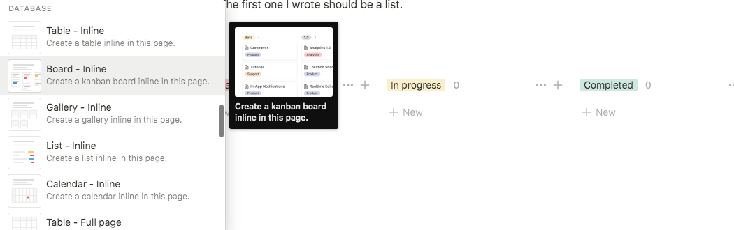 notion kanban board