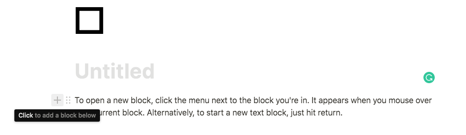 notion block