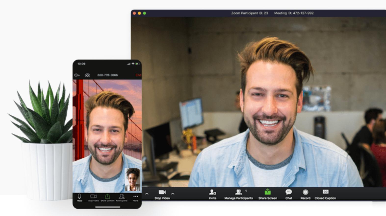 Zoom Meeting UI