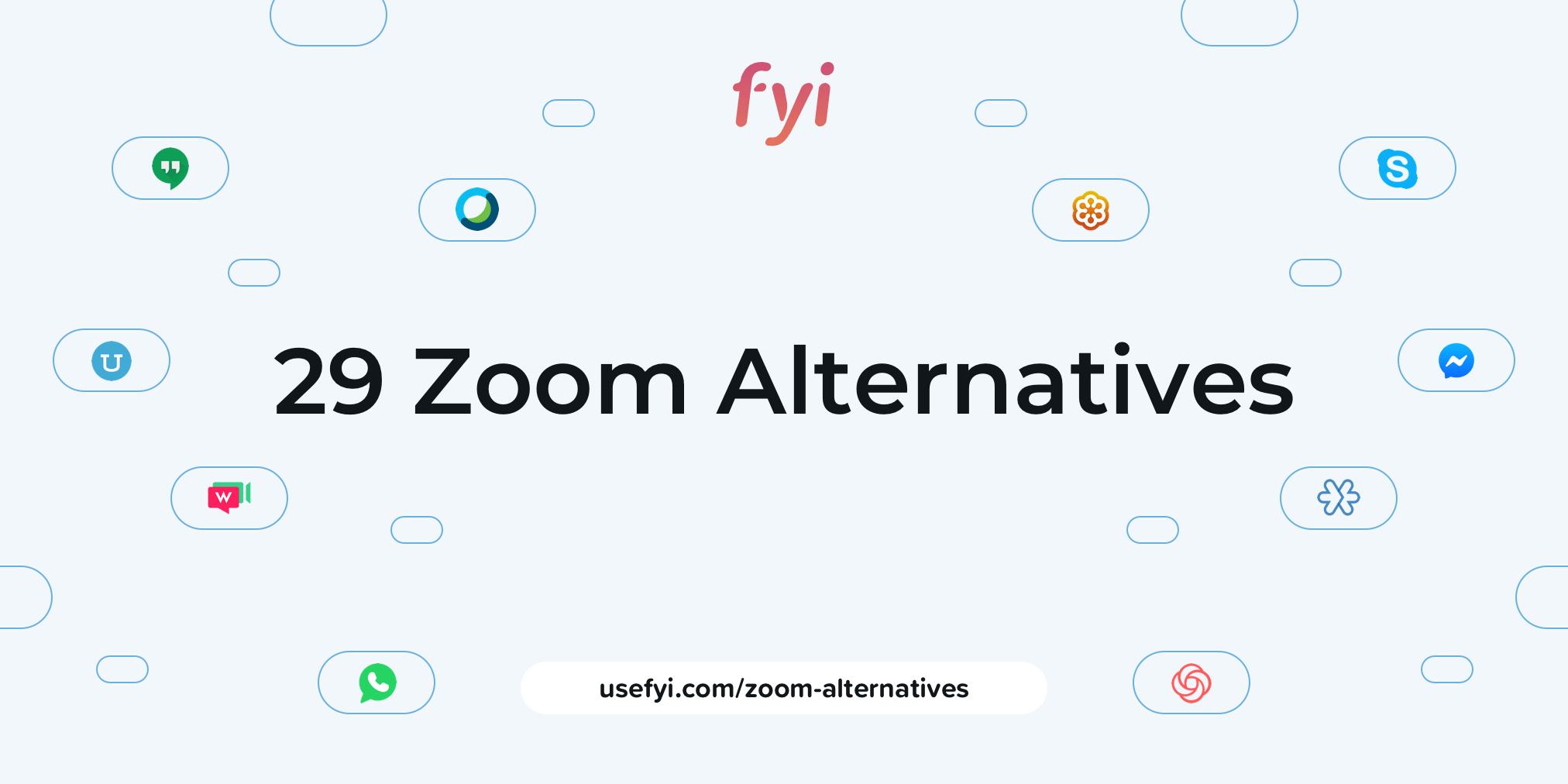 Zoom alternatives cover image